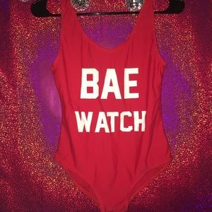 Other - Bae Watch Swimsuit